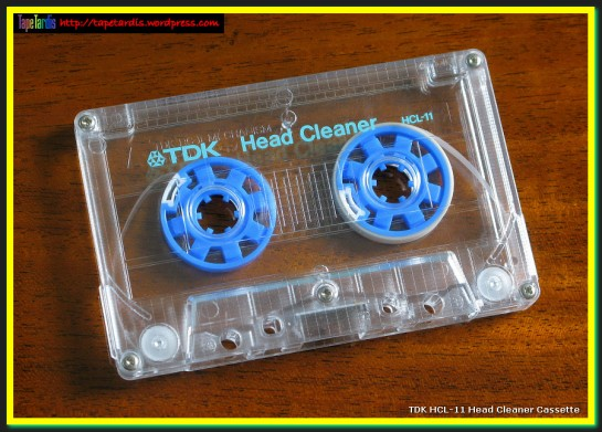 TDK HCL-11 Head Cleaner Cassette